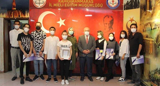 """""""1000 MESLEK LİSESİ SANATSAL ETKİNLİKLERLE BULUŞUYOR"""" ÖDÜL TÖRENİ"""