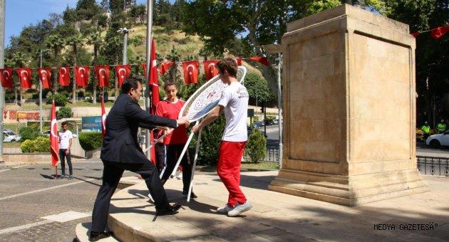 19 MAYIS ATATÜRK'Ü ANMA GENÇLİK VE SPOR BAYRAMI COŞKU İLE KUTLANDI