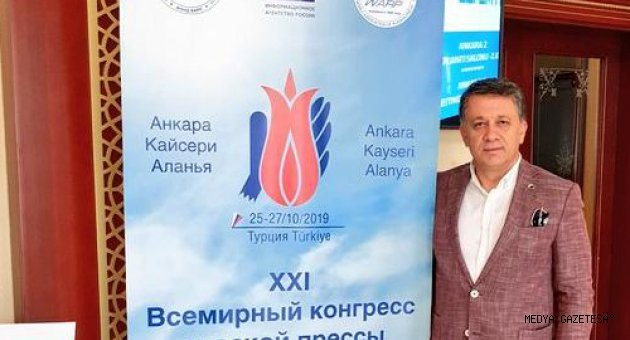 21. DÜNYA RUS MEDYA KONGRESİ ANKARA'DA TOPLANIYOR