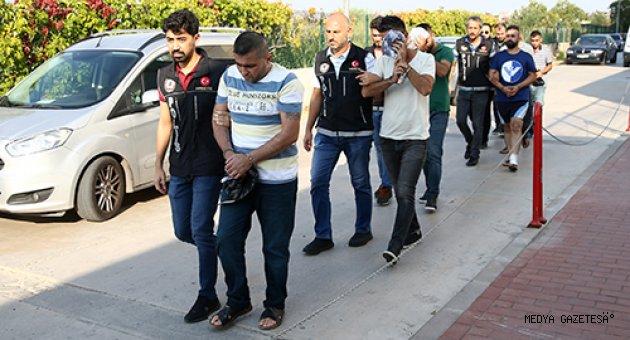 Adana merkezli 3 ildeki uyuşturucu operasyonu