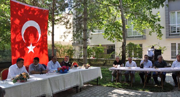 Afşin'de bayramlaşma töreni düzenlendi