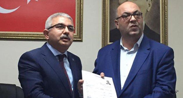 Akpınar Ak Partiden Dulkadiroğlu Belediyesine Aday Adayı Oldu