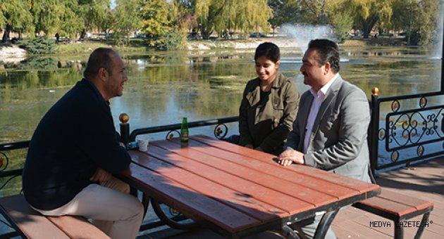 Ceyhan Nehri'nin kaynağı Pınarbaşı sonbaharda bir başka güzel