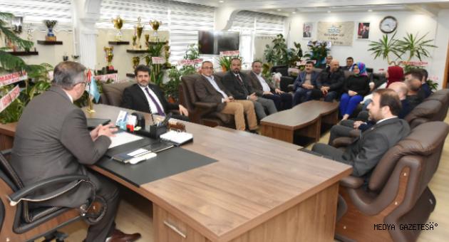 Debgici'den Başkan Aydın'a Hayırlı Olsun Ziyaret'i