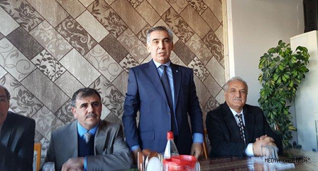 İYİ Parti Çağlayancerit'le Kucaklaştı