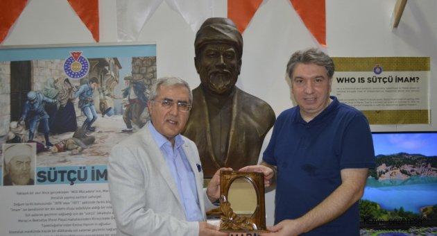İzmir Enternasyonal Fuarında Kahramanmaraş Sütçü İmam Üniversitesi Standı Büyük İlgi Gördü