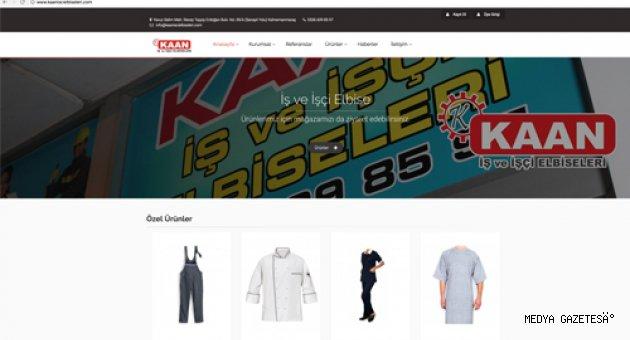 Kaan İş ve İşçi Elbiseleri, online mağazasını açtı!