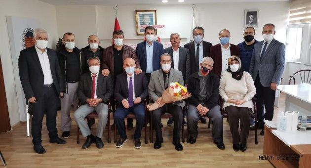 Kahramanmaraş ASKF'de devir teslim töreni yapıldı.