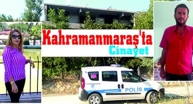 Kahramanmaraş'ta eşini öldürdüğü iddia edilen kişinin yakalanmasına çalışılıyor