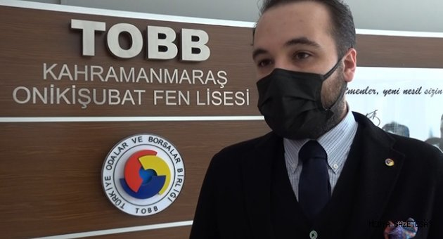 Kahramanmaraş'ta lise öğrencilerine kodlama eğitimi