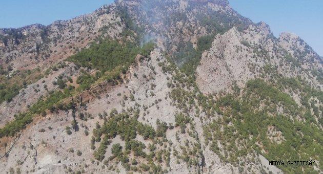 Kahramanmaraş'ta örtü yangını kontrol altına alındı