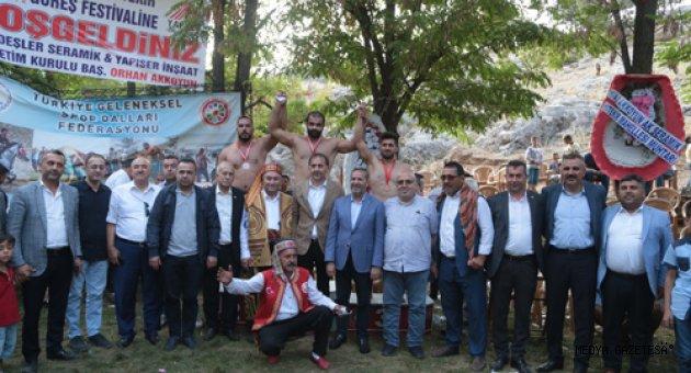 Kahramanmaraş'ta Tekir Şalvar Güreş Müsabakası düzenlendi