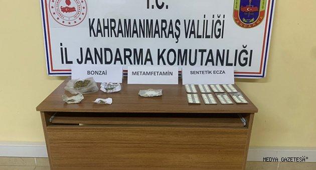 Kahramanmaraş'ta uyuşturucu operasyonunda 5 zanlı yakalandı