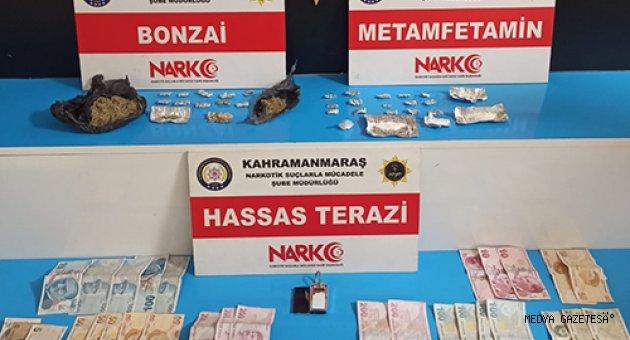 Kahramanmaraş'ta uyuşturucu operasyonunda yakalanan 4 şüpheli tutuklandı