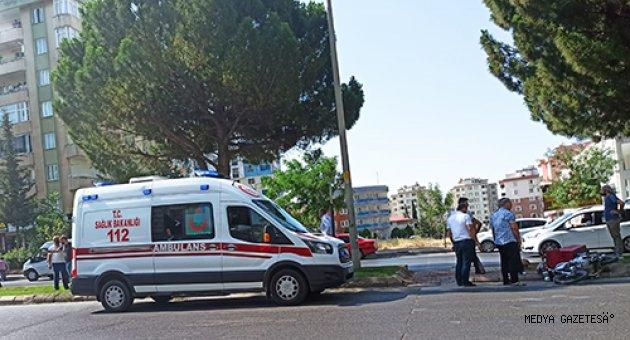 Kahramanmaraş'ta yayaya çarpan motosikletin sürücüsü öldü