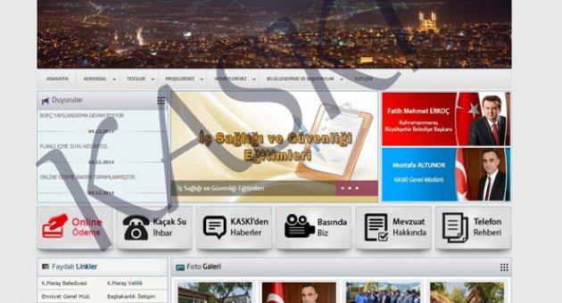 KASKİ WEB SİTESİ YENİLENDİ