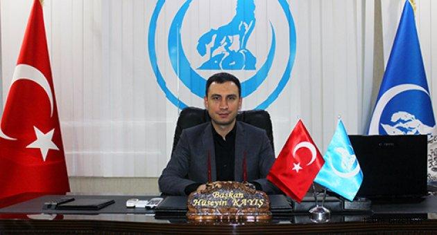 Kayış'ın; 12 Mart İstiklal Marşı'nın Kabulü ve Mehmet Akif Ersoy'u Anma Günü mesajı