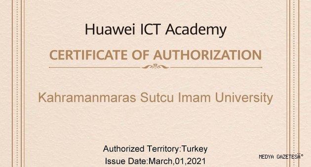 KSÜ ile Huawei Arasında ICT Academy Kapsamında Akademik Partnerlik Anlaşması Yapıldı