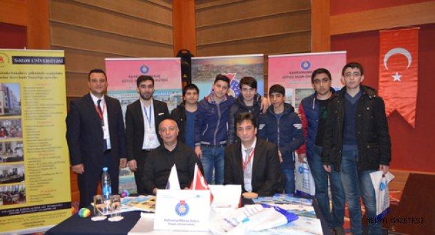 KSÜ Kardeş Ülke Azerbaycan'da Üniversite Adaylarıyla Buluştu