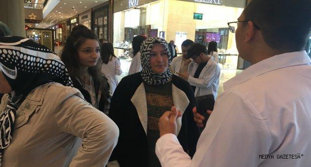 KSÜ Öğrencileri, Meme Kanseri Farkındalık Etkinliği Düzenledi