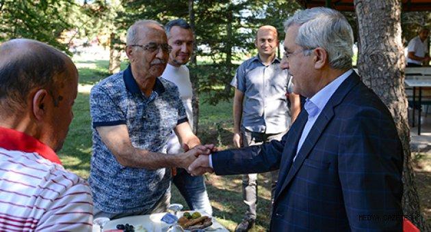 KSÜ Rektörü Prof. Dr. Niyazi Can, Basın Mensuplarıyla Buluştu