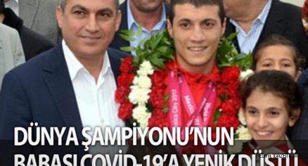 Milli yüzücü Eroğlu'nun babası koronavirüse yenik düştü