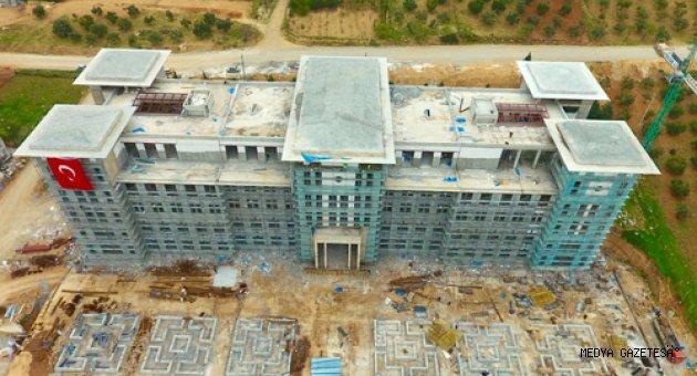 Onikişubat Belediyesi Yeni Akıllı Hizmet Binası İnşaat Sürecinde Sona Yaklaşıldı