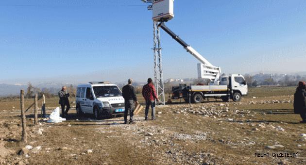 Osmaniye'de bir kişi arazide ölü bulundu