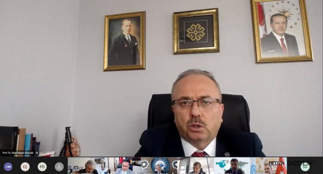 Rektör Can, Türkiye Maarif Vakfı Üniversiteler ile İstişare Toplantısında Konuştu