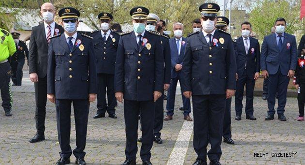 Türk Polis Teşkilatının 176. kuruluş yıl dönümü kutlandı