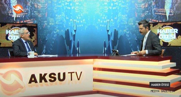 Üniversitemiz Bölüm ve Programları Aksu TV'de Tanıtılıyor