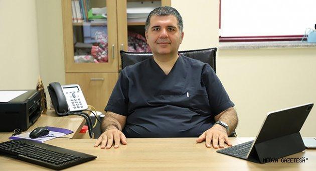 Üniversitemiz Tıp Fakültesi Dr. Öğretim Üyesi Murat Şahin, Ramazan'da Nasıl Beslenilmesi Gerektiğini Anlattı